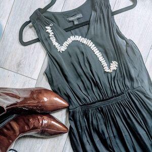 Black banana republic maxi dress XS - S
